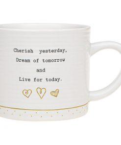 Thoughtful Words Live Mug