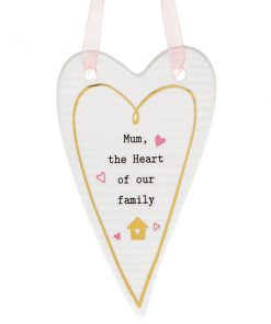 Thoughtful Words Mother's Day Heart Plaque