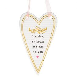 Thoughtful Words Mother's Day Heart Plaque Grandma