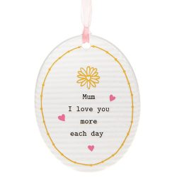 Thoughtful Words Mother's Day Oval Plaque Mum Day