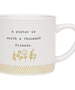Thoughtful Words Sister Mug