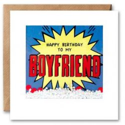 boyfriend birthday kapow shakies card