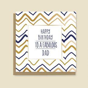 Happy Birthday Card Dad