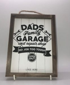 Dad's family garage and repair shop