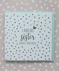 Fabulous Sister Happy Birthday