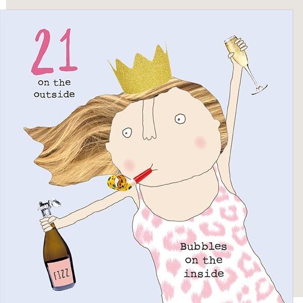 Girl 21 Bubbles