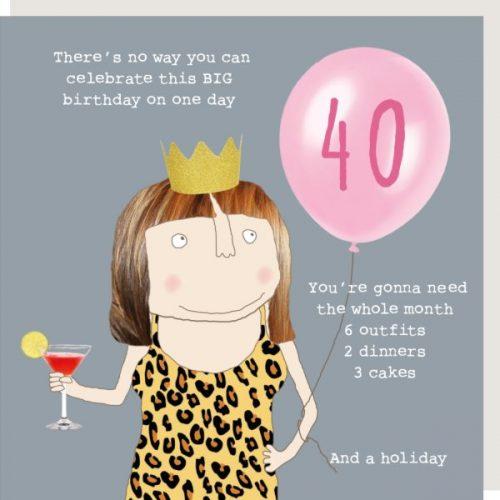 Girl 40 Bday