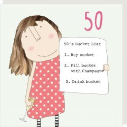 Girl 50 Bucket List