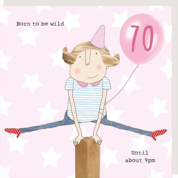 Girl 70 Wild