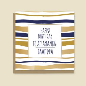 Happy birthday card Grandpa
