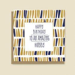 Happy Birthday Card Hubby
