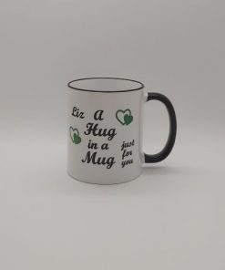 Hug in a Mug personalised