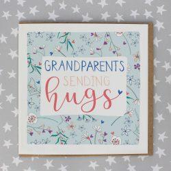 Molly Mae Card Sending Hugs Grandparents