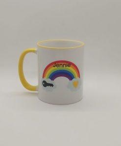 Rainbow Keyworker Mug