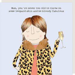 Mum Leopard Skin