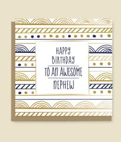 Happy Birthday Crad Nephew