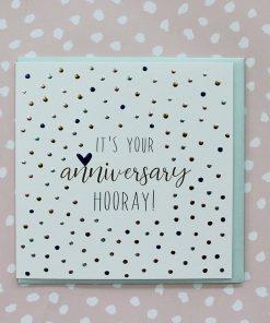 Molly Mae Card It's Your Anniversary Hooray !