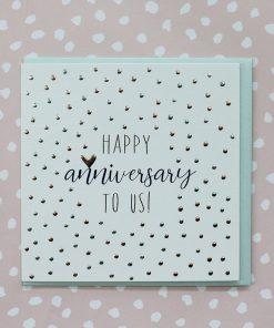 Molly Mae Card Happy Anniversary To Us !