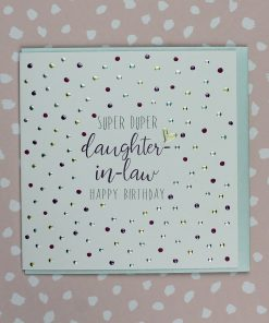 Daughter in Law Happy Birthday