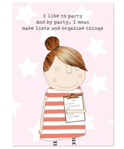 A6 Notebook - Party Lists