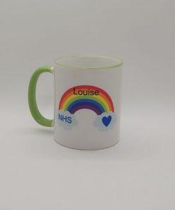 Rainbow Thank You NHS Mug