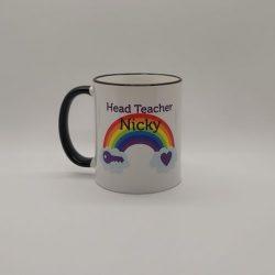 Rainbow Thank You Teacher Mug..