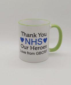 Rainbow NHS Thank you mug