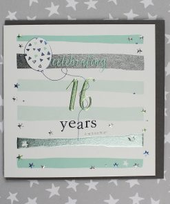 16 Years Birthday Card Male or Female