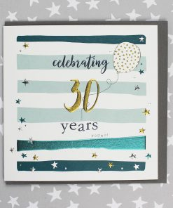 30 Years Birthday Card Male or Female