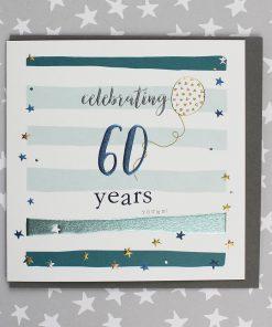 60 age birthday card