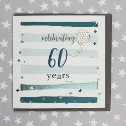 60 age birthday card