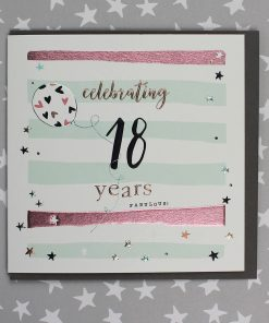 18 Years Birthday Card Male or Female