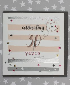 30 Years Birthday Card Male or Female