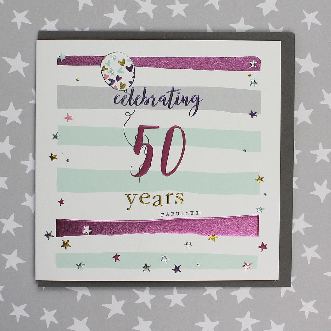 60 Years Birthday Card Male or Female