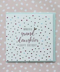 Wonderful Grandaughter Happy Birthday