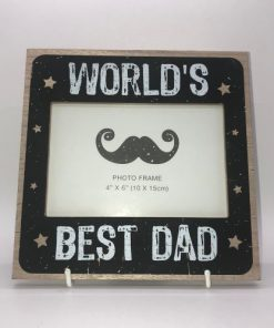 Worlds Best Dad Picture Frame