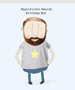 beardy birthday boy