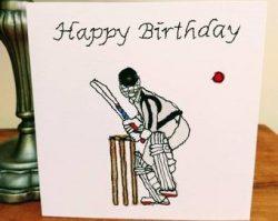 Happy Birthday Cycling Card