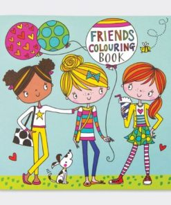 friends-colouring-book
