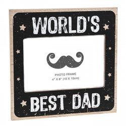 Worlds Best Dad Frame