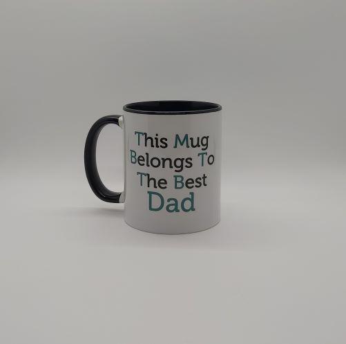 Dad is the Best Personalised Mug