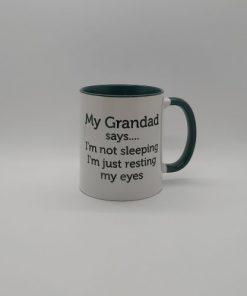 My Grandad is the Best Personalised Mug