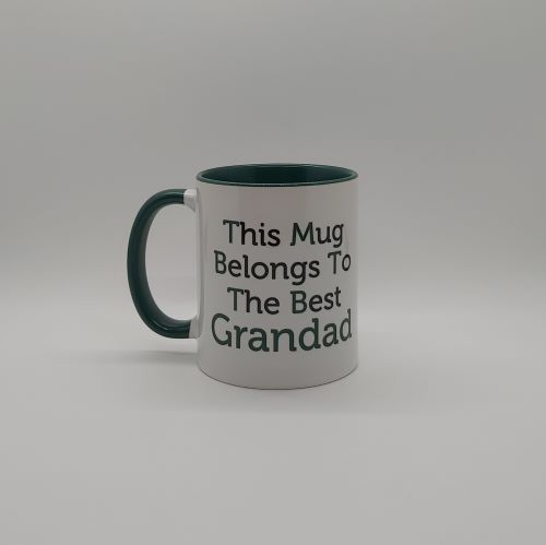 My Grandad is the Best Personalised Mug