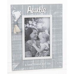 Cool Grey Tassel Frame Auntie