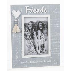 Cool Grey Tassle Frame Friends