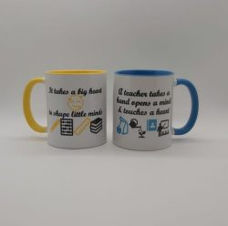 Teacher Mug It takes a big heart