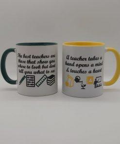 Teacher Mug The best teachers are