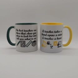 Teacher Mug The best teachers are