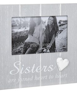 Cool Grey Frame with Heart Sister