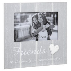 Cool Grey Frame with Heart Friends